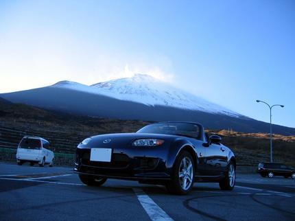 ロードスター 富士山