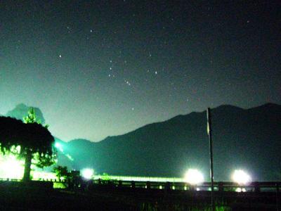 「ロードスター 屋根を開けたら 流星雨」 深夜の奥多摩ドライブ&ペルセウス座流星群観測