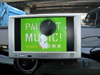 ワンセグテレビ装着と車載用カメラリプレイス