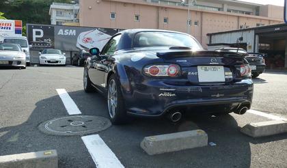ASM横浜に行って来た&ZOOMエンジニアリングパーキングレバーグリップ